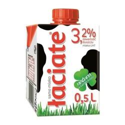 Mleko ŁACIATE UHT 3.2% 0.5L EXP0319