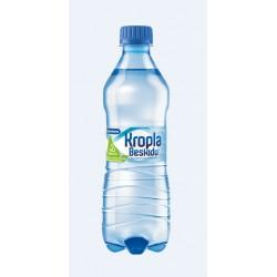 Woda KROPLA BESKIDU gazowana 0.5L butelka PET 168503