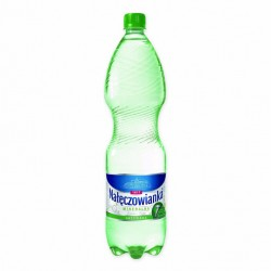 Woda NAŁĘCZOWIANKA gazowana 1.5L butelka PET