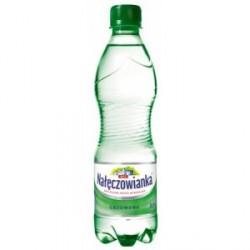 Woda NAŁĘCZOWIANKA gazowana 0.5L butelka PET