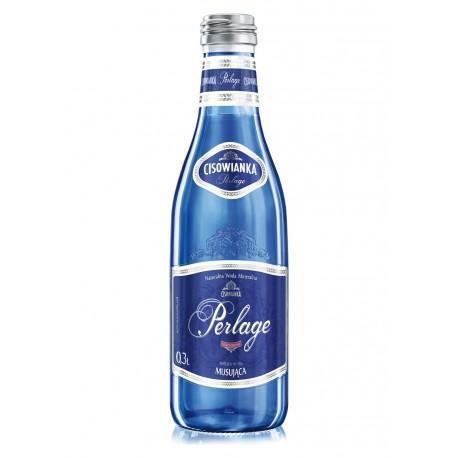 Woda Cisowianka 0,3l Perlage (gaz) szkło