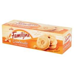 Ciastka Familijne o smaku waniliowym 160g.
