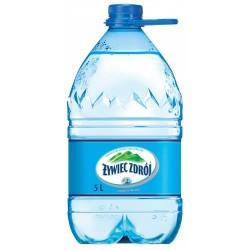 Woda ŻYWIEC ZDRÓJ, niegazowana, 5l