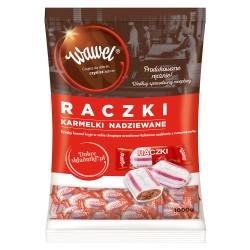 Cukierki Wawel Raczki Karmelki nadziewane 1kg.
