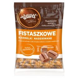 Cukierki Wawel Karmelki fistaszkowe 1kg.