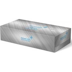 Chusteczki higieniczne VELVET Professional Box, 2-warstwowe, 100 listków, biały