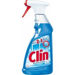 Płyn do mycia szyb CLIN Blue, pompka 500ml