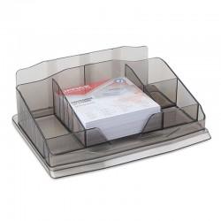 Przybornik na biurko dymny OFFICE PRODUCTS  z karteczkami