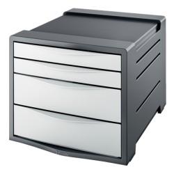 Pojemnik z szufladami ESSELTE Vivida biały