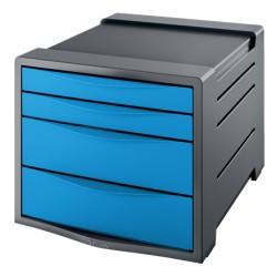 Pojemnik z szufladami ESSELTE Vivida niebieski