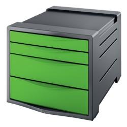 Pojemnik z szufladami ESSELTE Vivida zielony