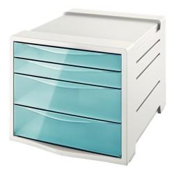 Pojemnik z szufladami ESSELTE Colour'Ice niebieski