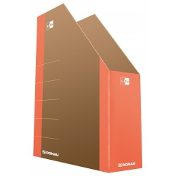 Pojemnik na czasopisma DONAU Life karton pomarańczowy 80mm