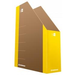 Pojemnik na czasopisma DONAU Life karton żółty 80mm