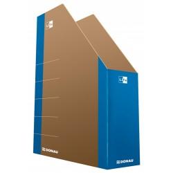 Pojemnik na czasopisma DONAU Life karton niebieski 80mm