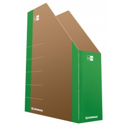 Pojemnik na czasopisma DONAU Life zielony 80mm
