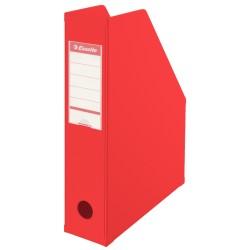 Pojemnik na czasopisma ESSELTE Vivida 70mm czerwony