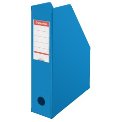 Pojemnik na czasopisma Esselte Vivida 70mm niebieski