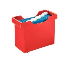 Kartoteka na teczki zawieszane LEITZ Plus czerwona
