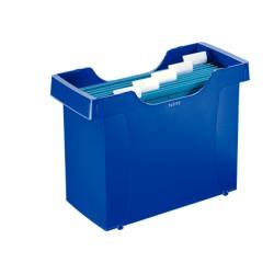 Kartoteka na teczki zawieszane LEITZ Plus niebieska