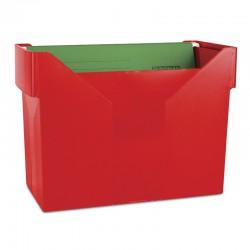 Kartoteka na teczki zawieszane DONAU czerwona