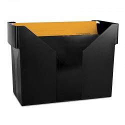Kartoteka na teczki zawieszane DONAU czarna