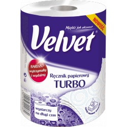 Ręcznik VELVET TURBO 3 warstwy, 300 listków