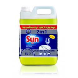 Detergent do maszynowego mycia i płukania Sun Liquid 2 in 1 100837501
