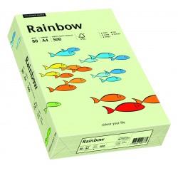 Papier xero kolorowy Rainbow blado zielony 72