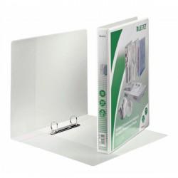 Segregator ofertowy LEITZ Panorama standard, A4+, 2DR/20, grzbiet 37 mm, biały