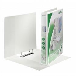 Segregator ofertowy LEITZ Panorama standard, A4+, 2DR/25, grzbiet 44 mm, biały