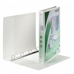 Segregator ofertowy LEITZ Panorama standard, A4+, 4DR/20, grzbiet 37 mm, biały
