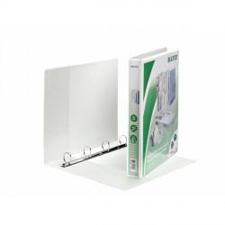 Segregator ofertowy LEITZ Panorama standard, A4+, 4DR/25, grzbiet 44 mm, biały