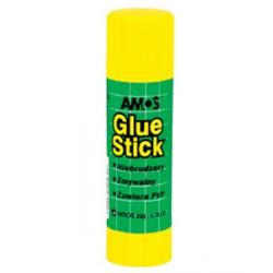 Klej w sztyfcie AMOS 22 g