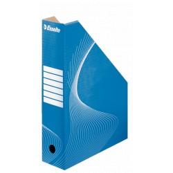 Pojemnik Kartonowy na czasopisma, Niebieski Esselte 80mm